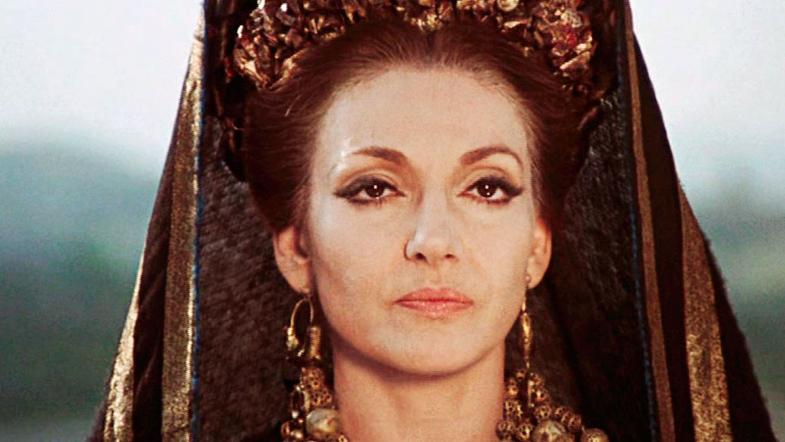 Opera singer Maria Callas cast as  Medea  in 1969