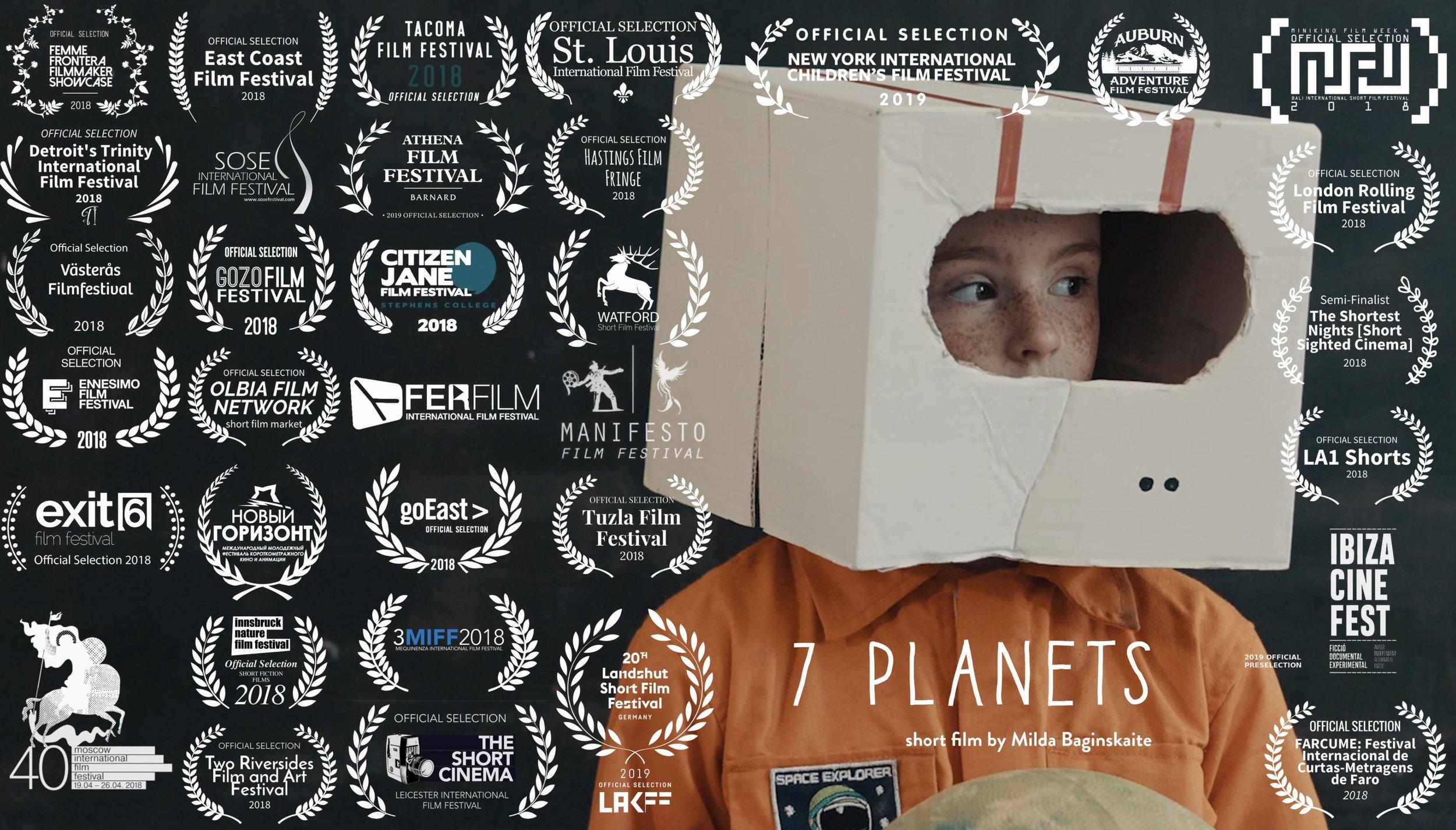 7 PLANETS | 2019 | 6 MINS | SCI-FI DRAMA