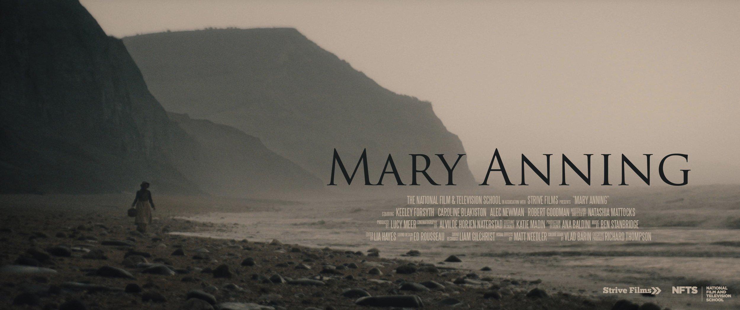 MARY ANNING | 2018 | 21 MINS | DRAMA - BAFTA LONG-LISTED