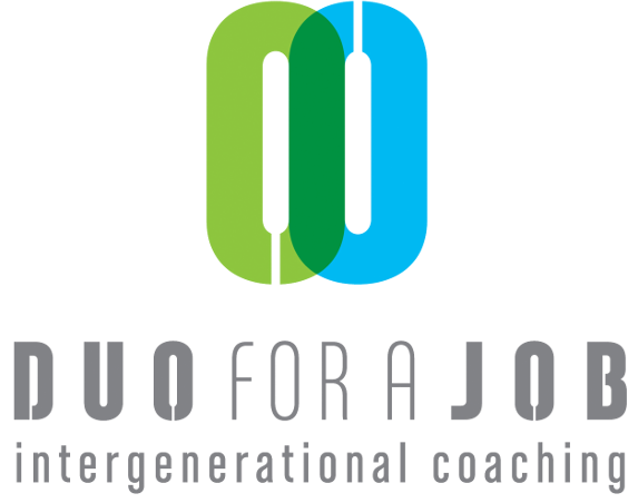 Duo for a Job - DUO for a JOB matches young job seekers with an immigrant background with people over 50 years old who have a professional experience in related fields and who can accompany and support them in their job search.The young person (mentee) and his/her mentor meet for a minimum of two hours a week over a period of six months (of course, flexible arrangements can be made to accommodate their respective agendas).DUO for a JOB provides services to young job seekers and future mentors in Brussels, Liège, Gent and Antwerp.Website