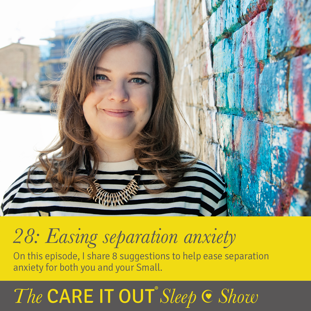 Episode 28: 8 suggestions to help ease separation anxiety