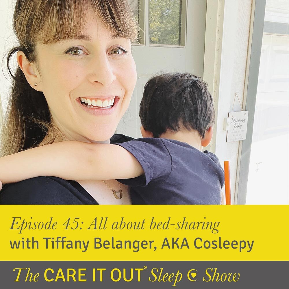 Episode 45: All about bed-sharing with Tiffany Belanger AKA Cosleepy