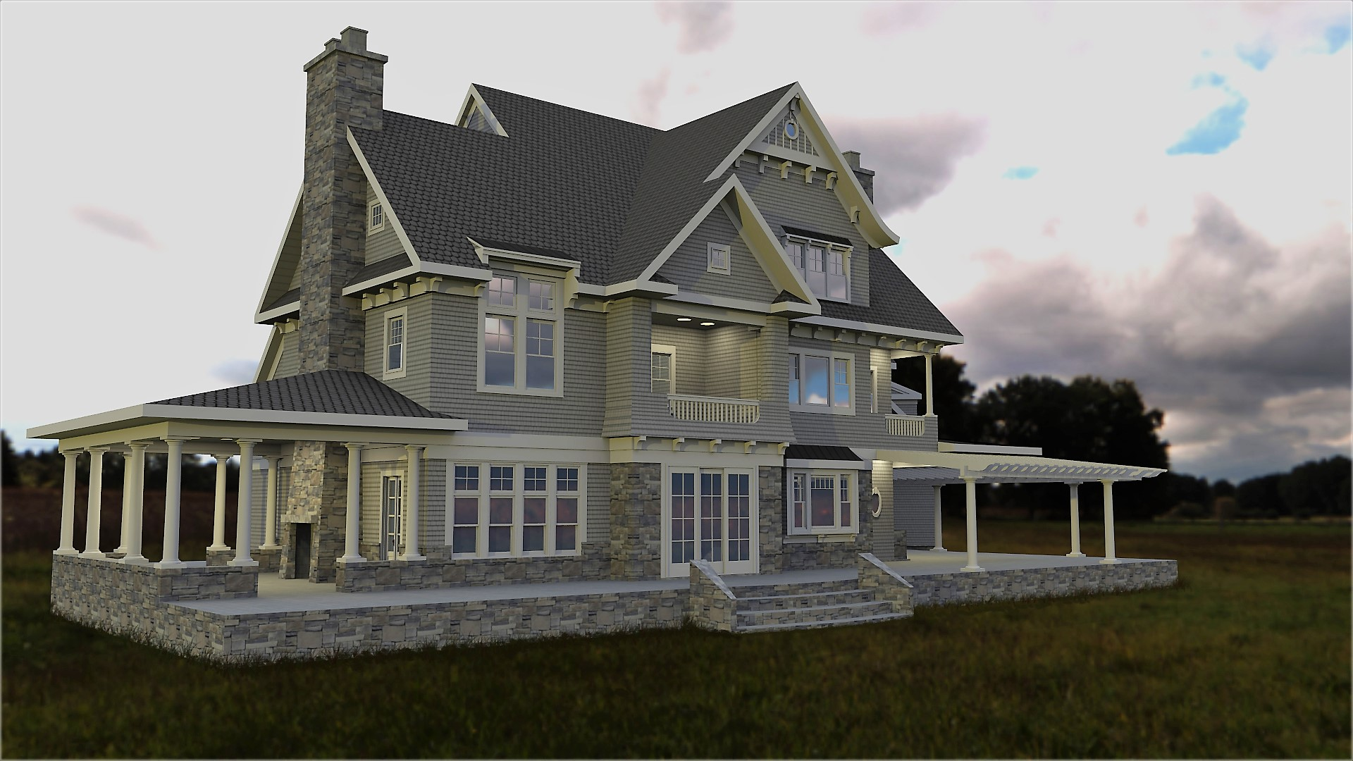 Booth Home Render