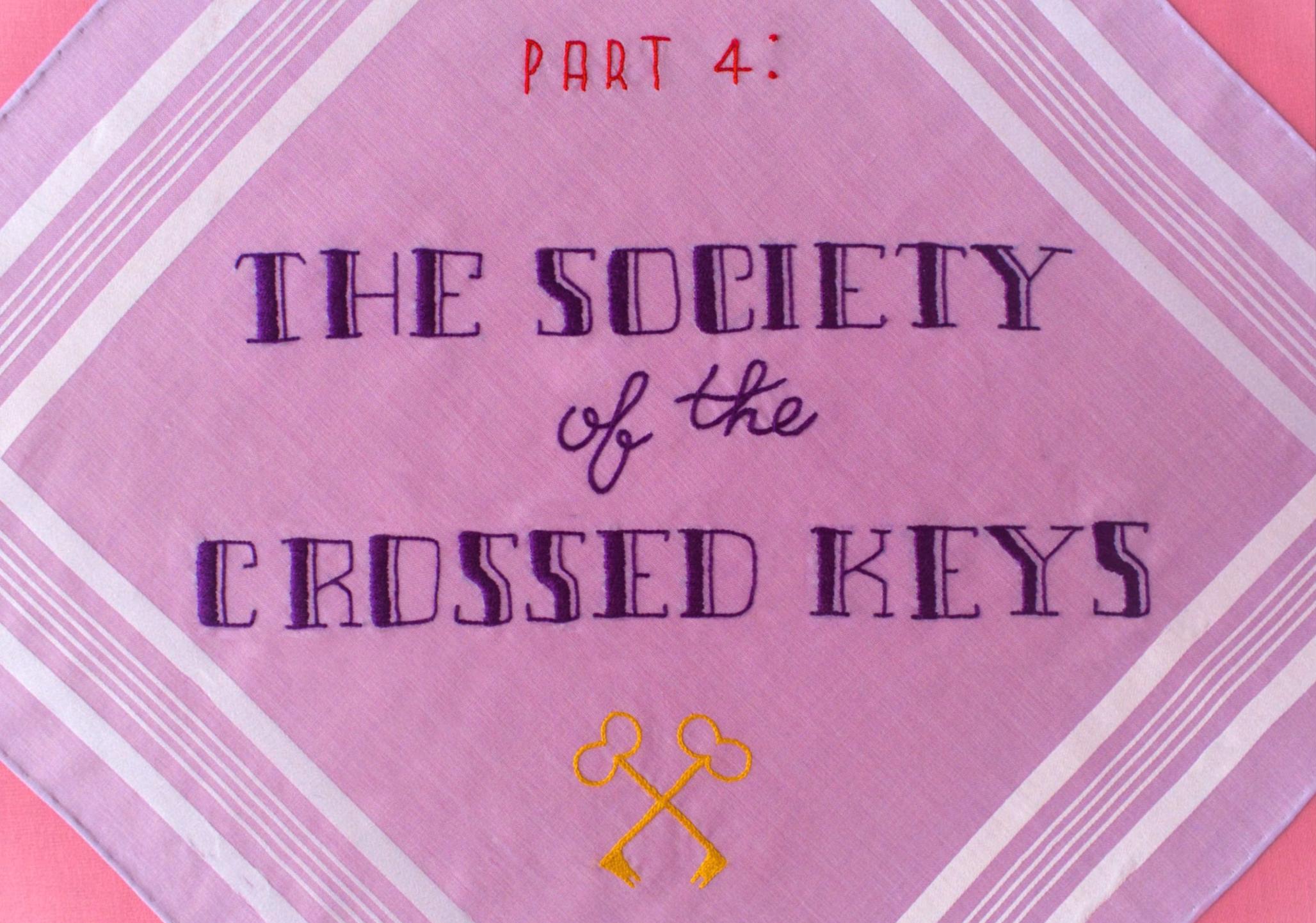 Logo for the Crossed Keys