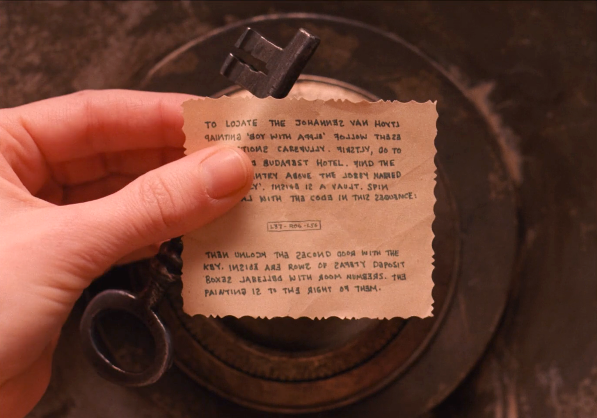 Props: Key and Little Message
