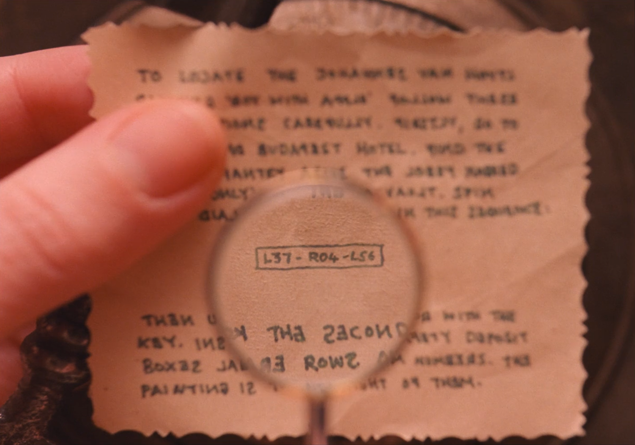 Prop: Magnifying Glass