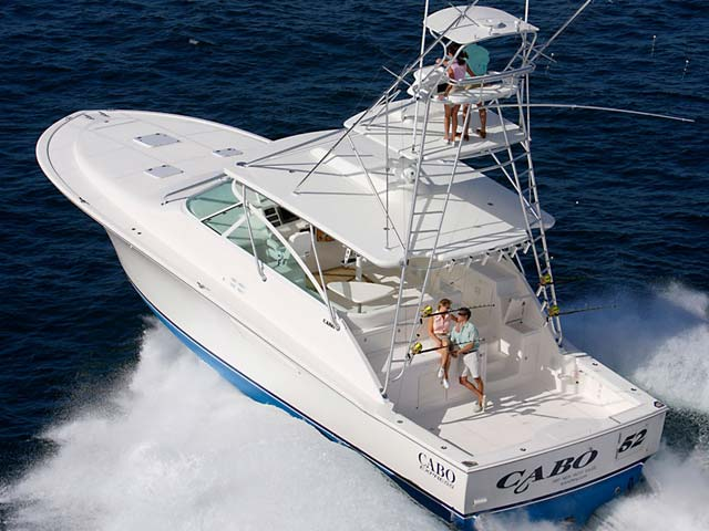 Cabo 52 express - Seakeeper 9several Cabo 52 projects