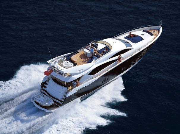 sunseeker 82 manhattan - seakeeper 26