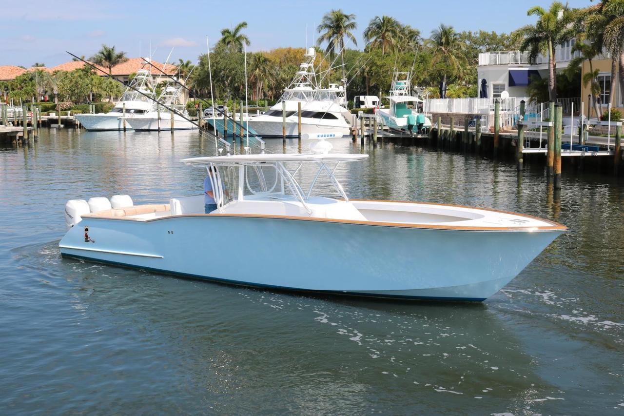 custom carolina 39 - seakeeper 3
