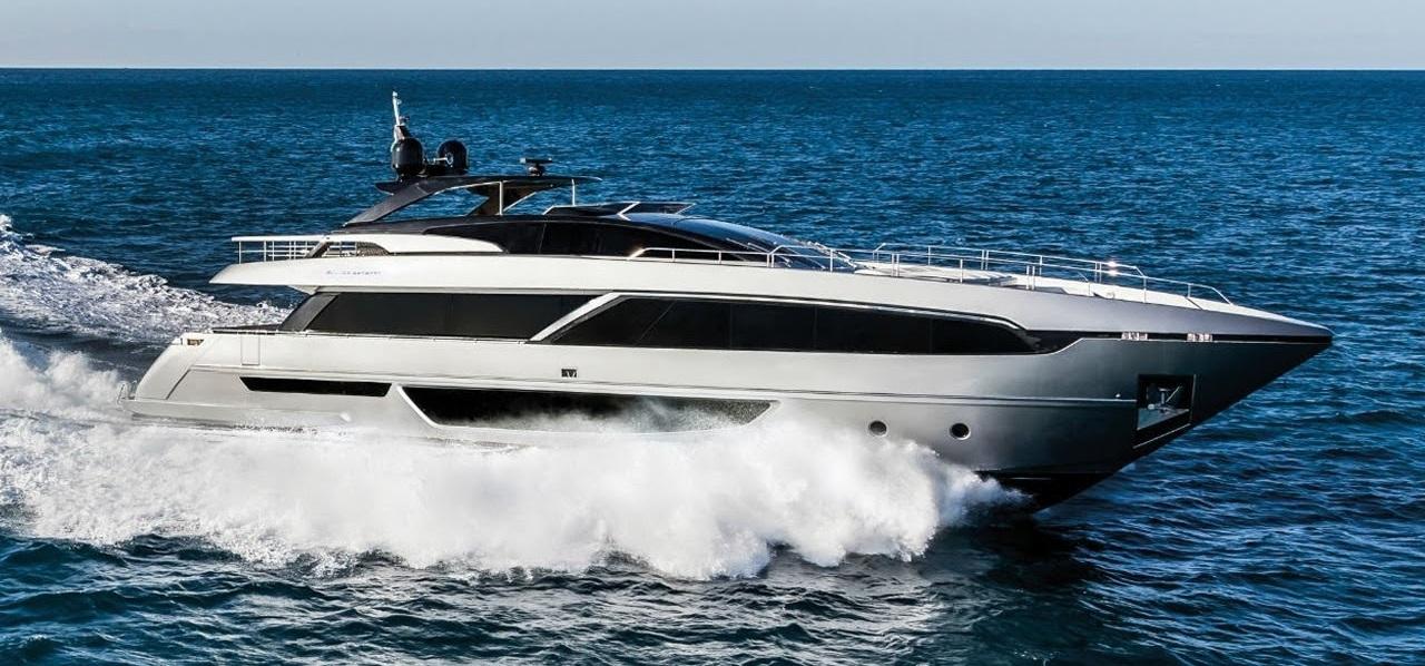 Riva 100 corsaro  - 3 x seakeeper 9
