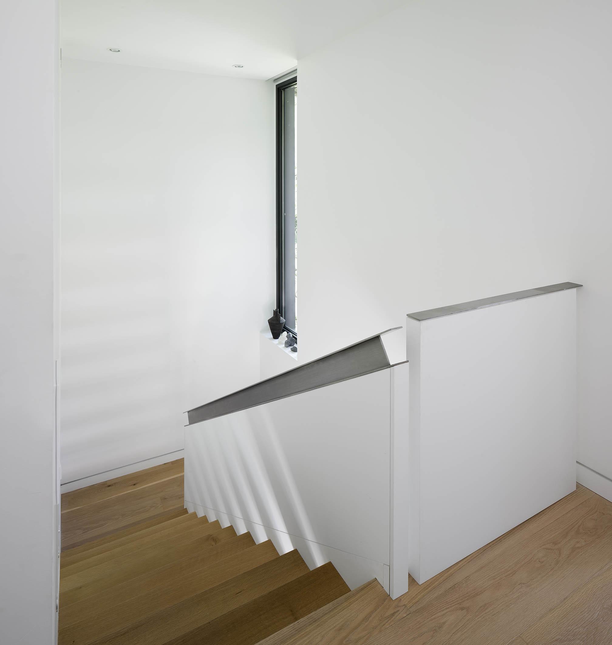 A House in a Grove Interior Staircase