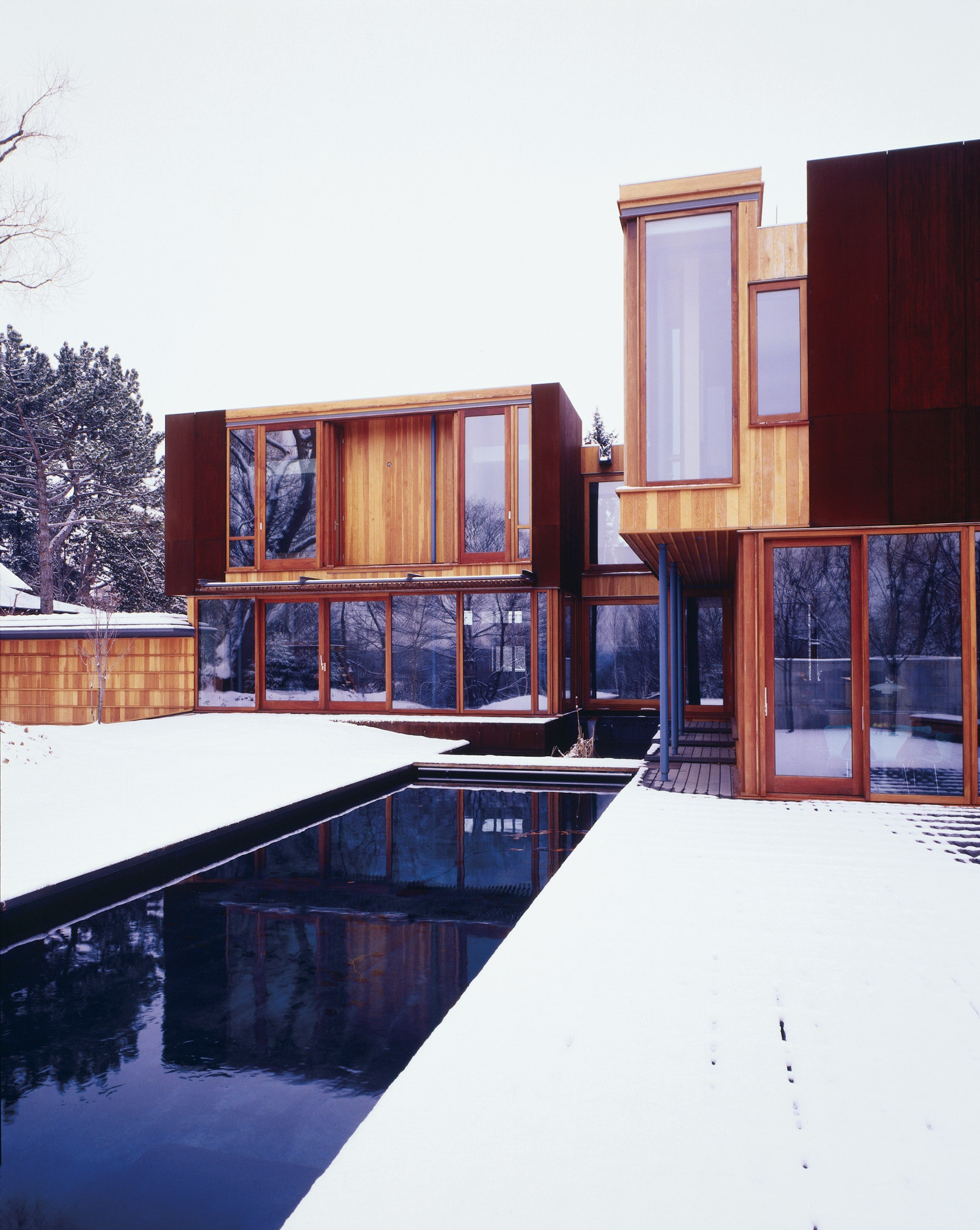 Weathering Steel House