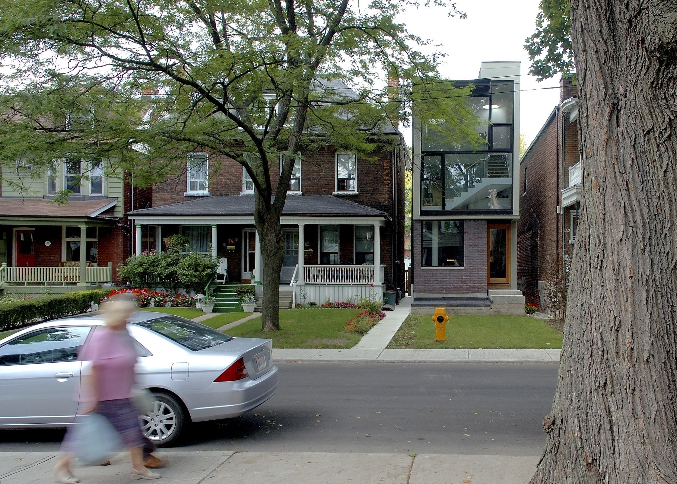 Galley House Exterior Sidewalk