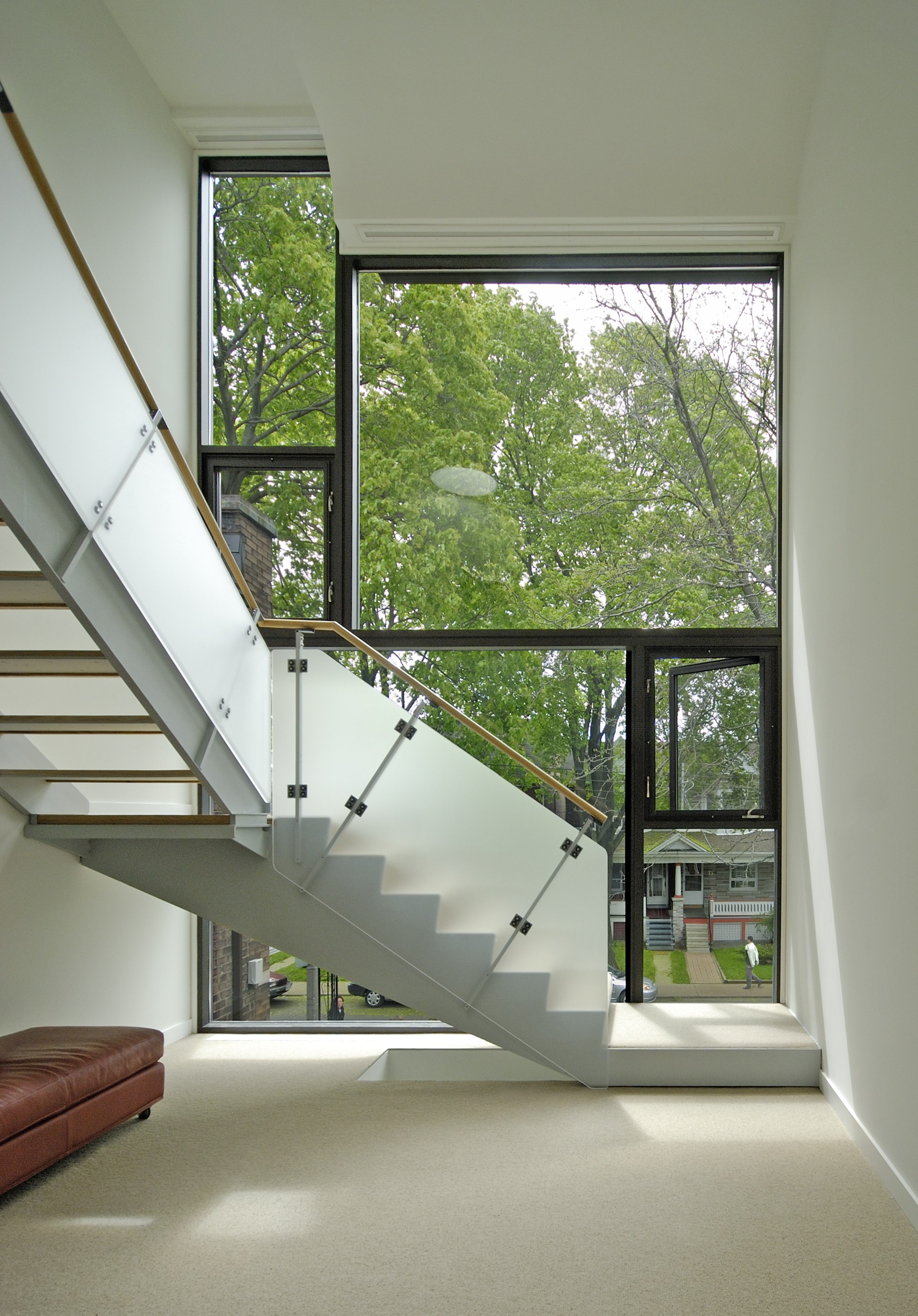 Galley House Interior Staircase View