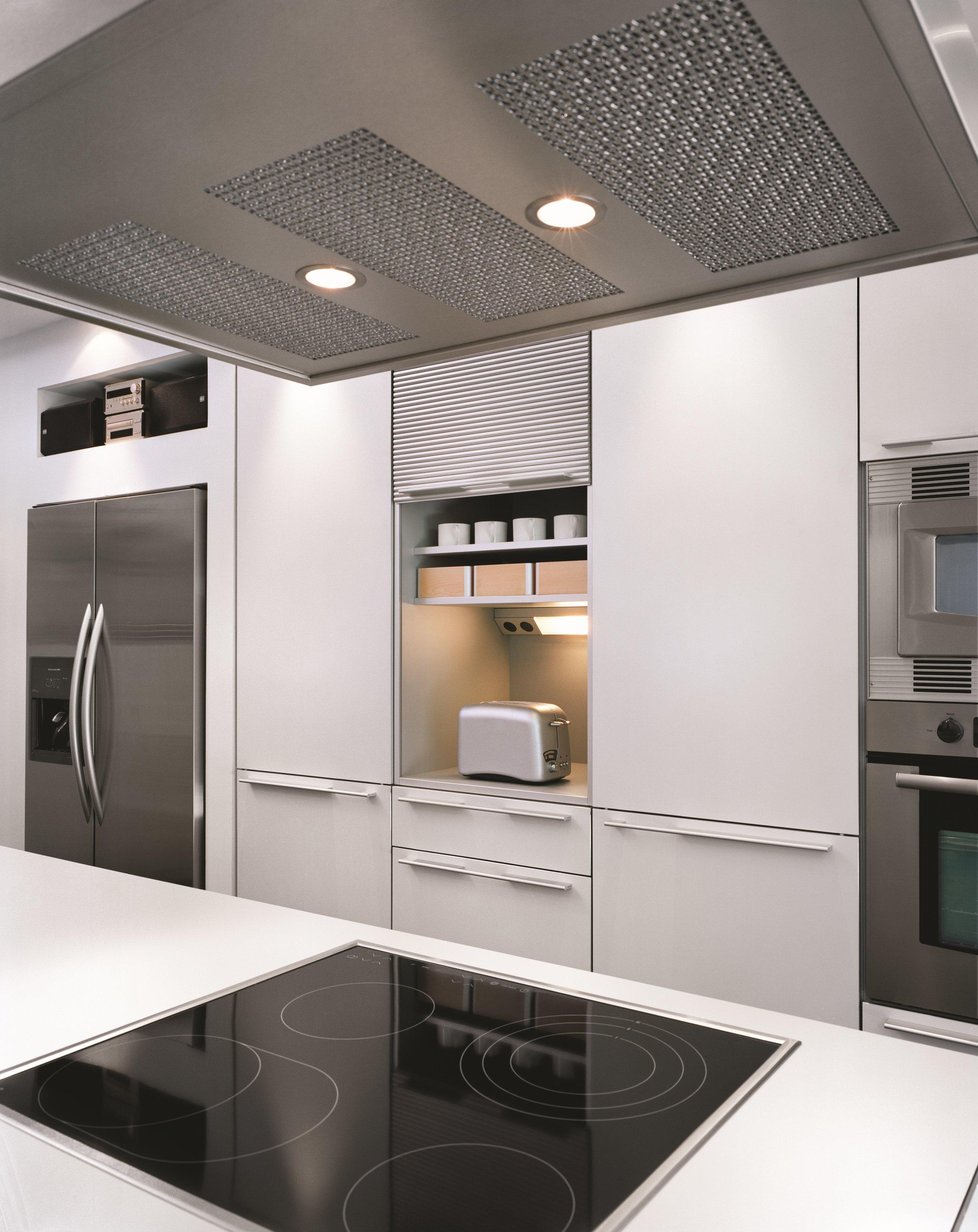 Galley House Interior Kitchen