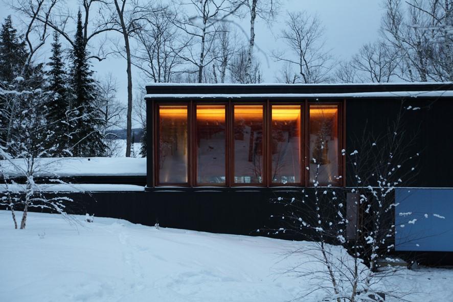 Haliburton Exterior Front Winter