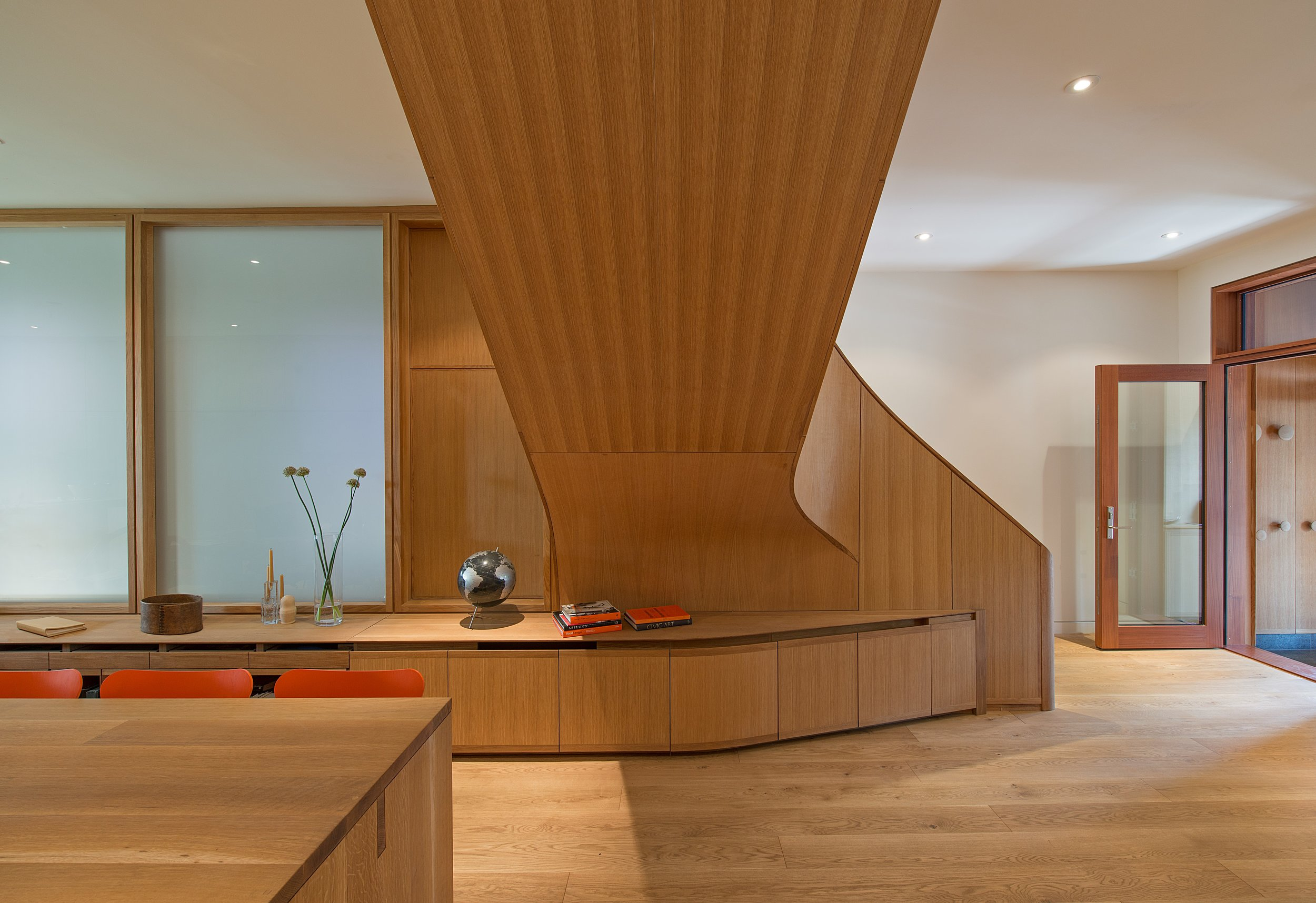 Howland Interior Staircase