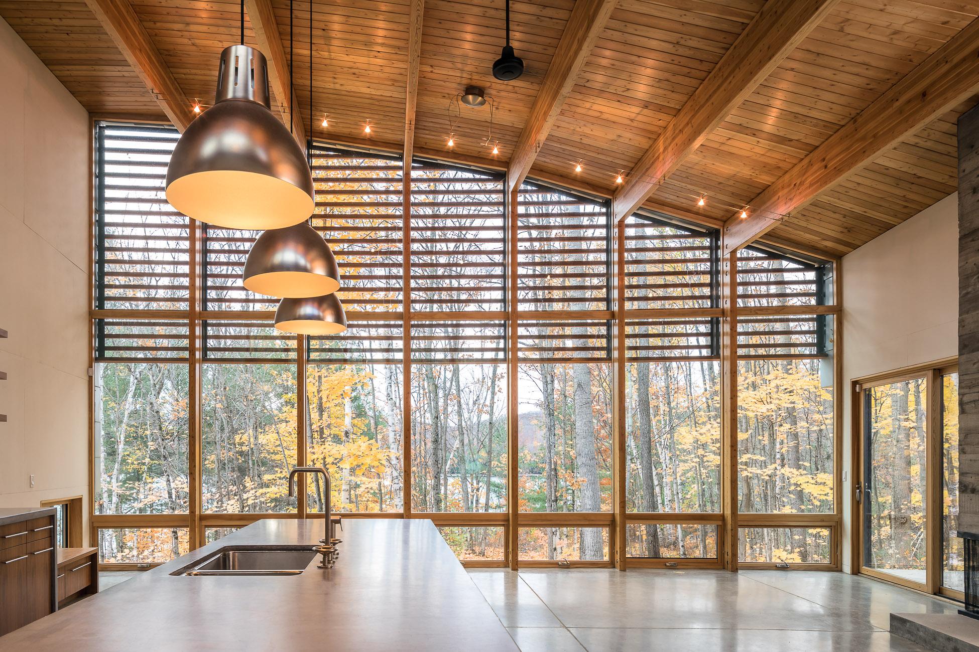Oblong Lake Interior Kitchen 2