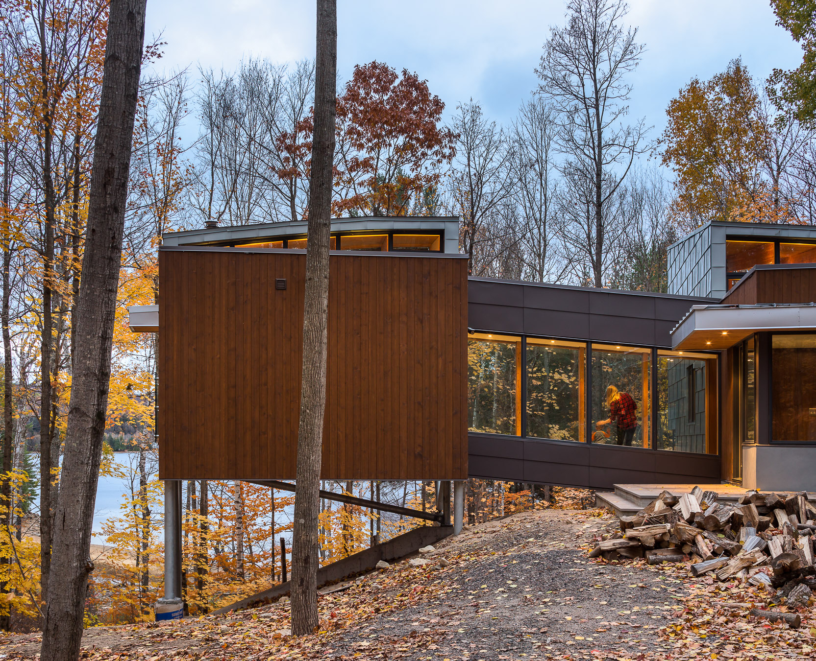 Oblong Lake Exterior Front