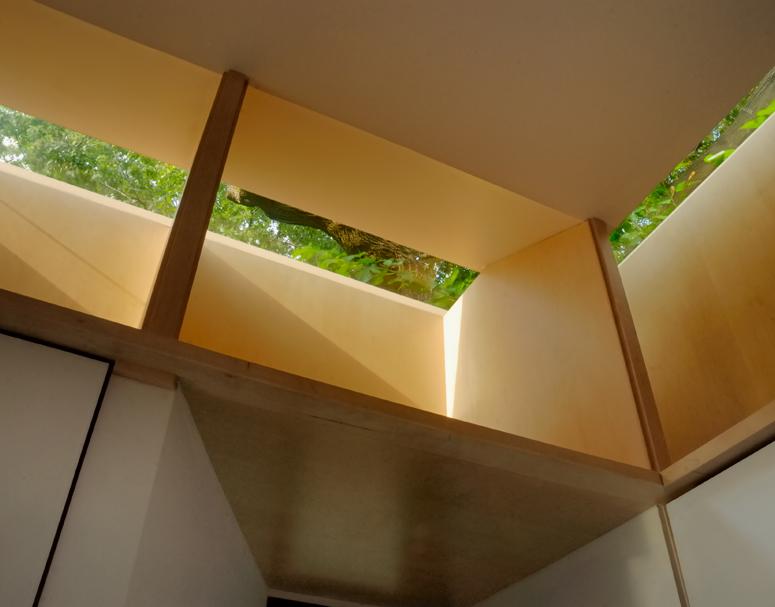 Craven Road Studio Interior Window Detail Shot