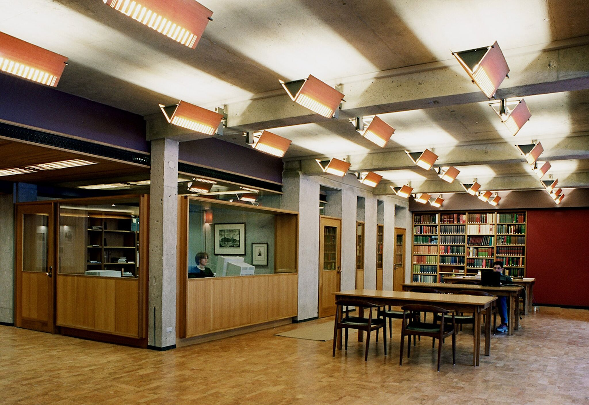Massey College Interior Library Reception