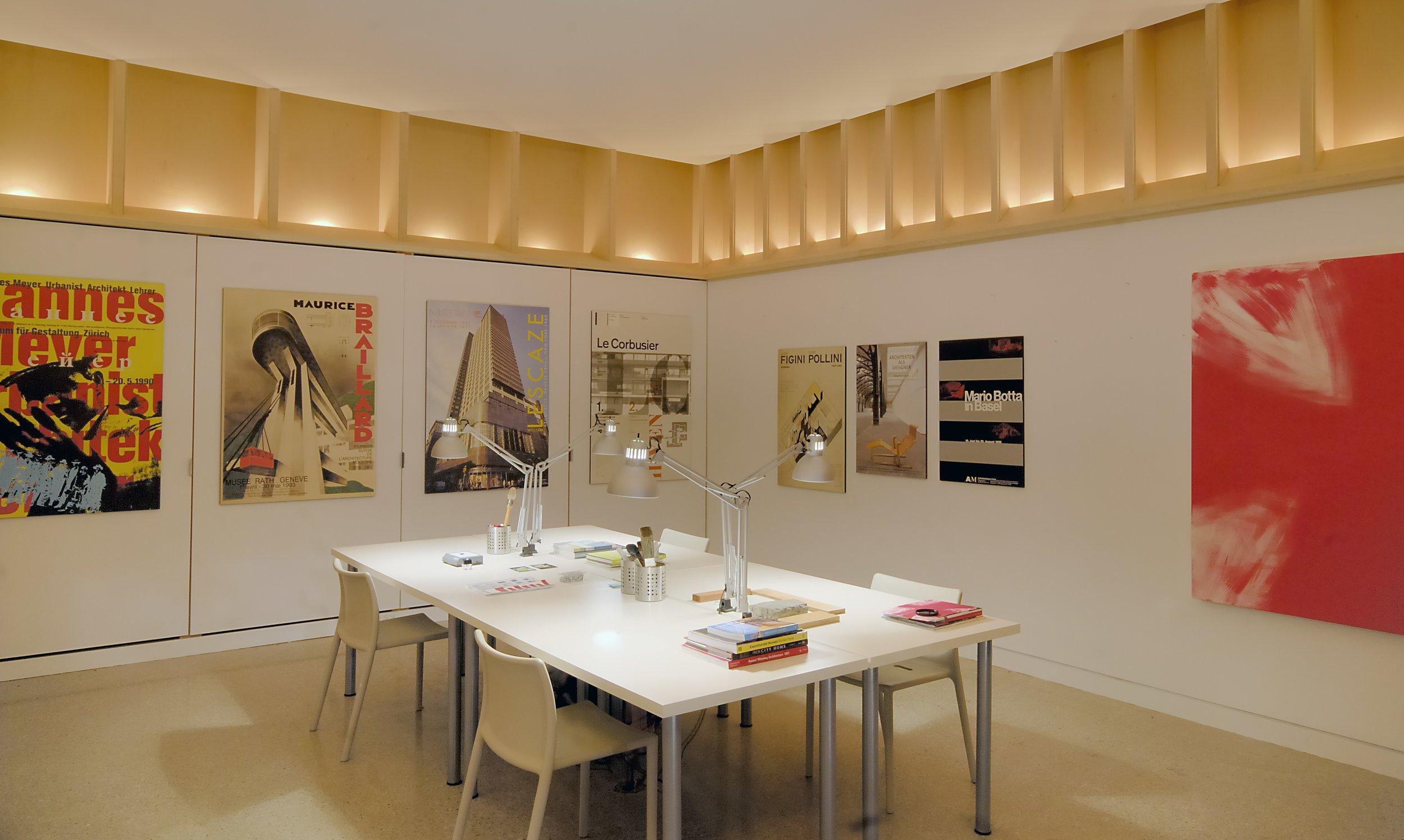 Craven Road Studio Interior Desk