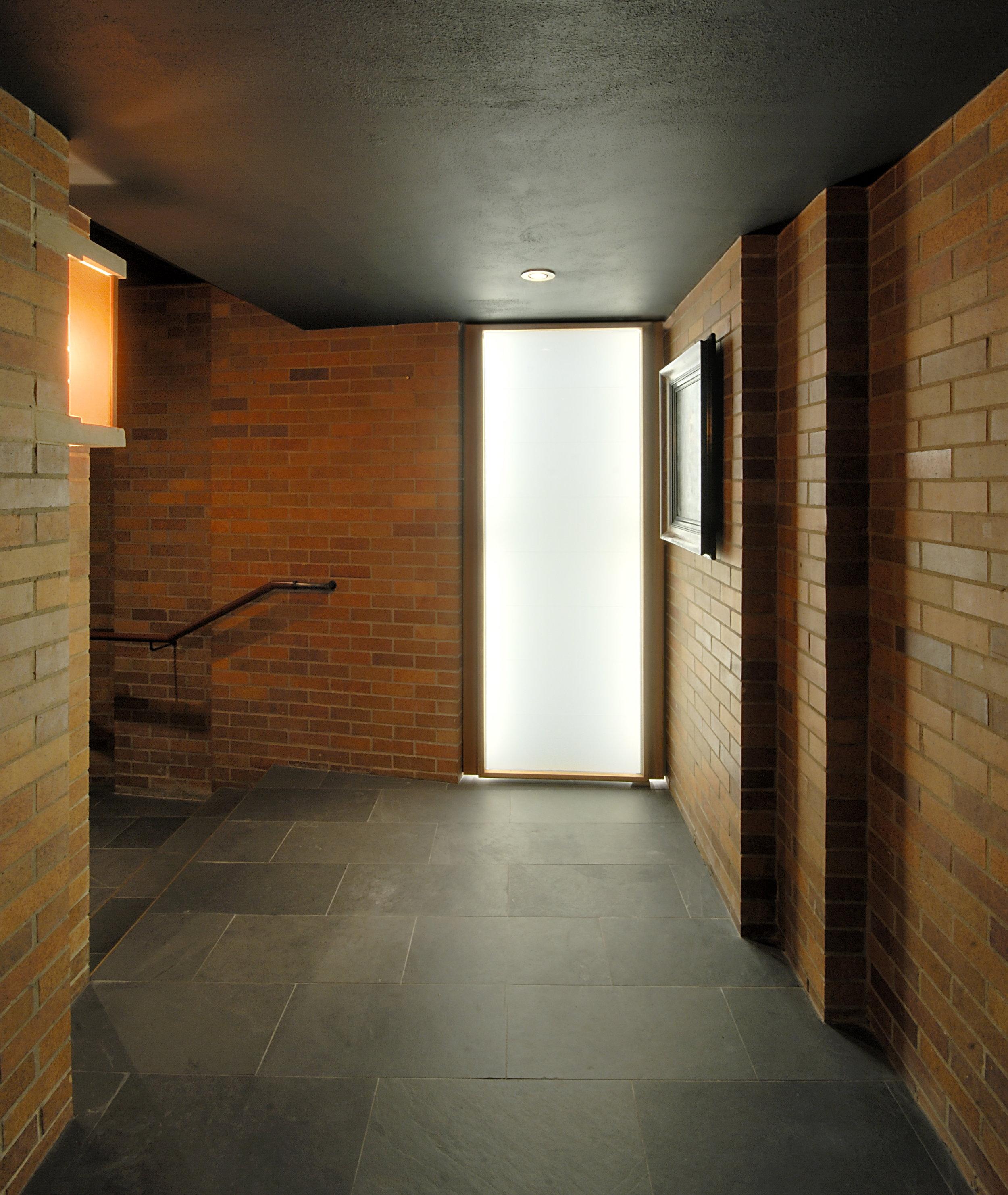 Massey College Chapel Interior Entrance