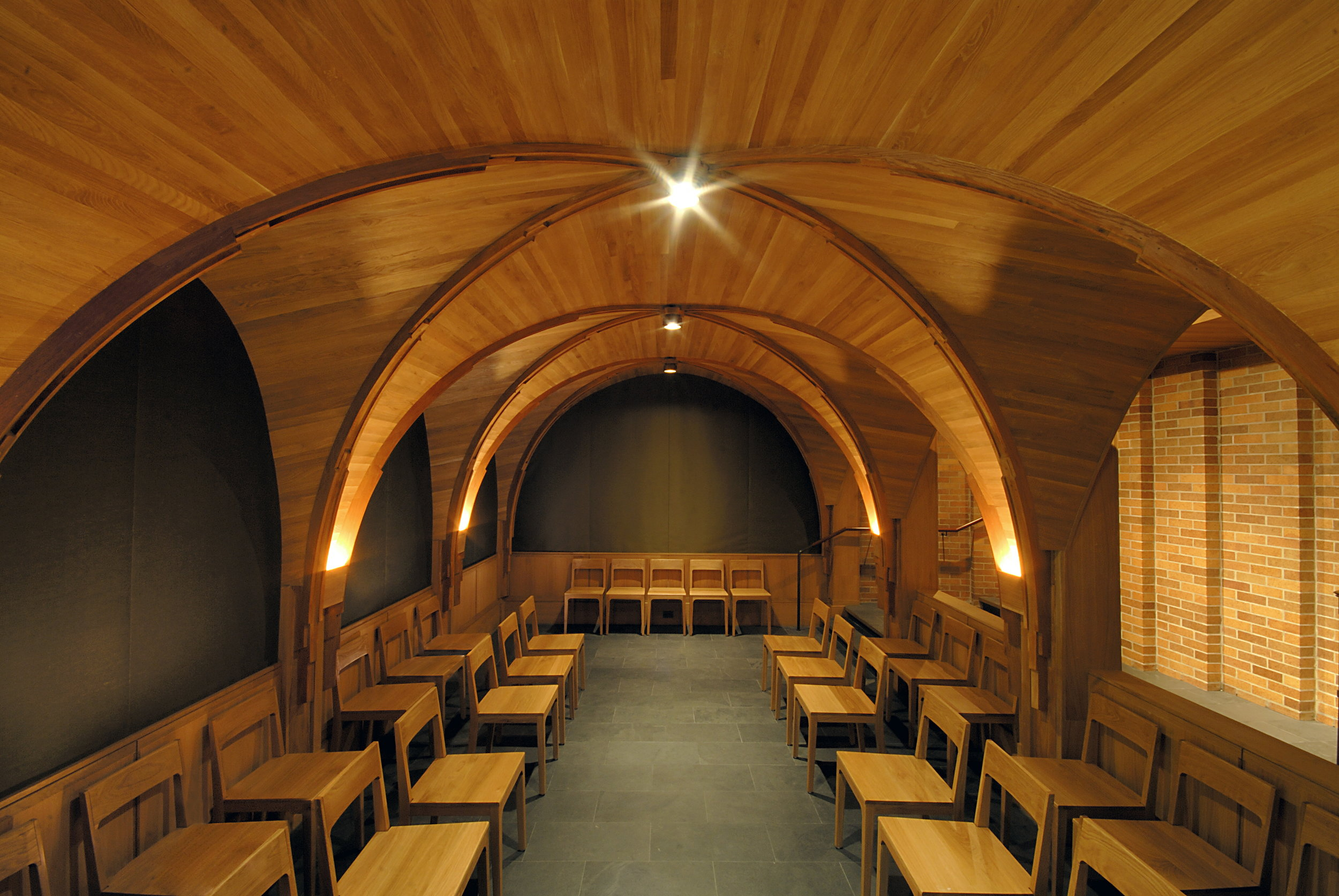 Massey College Chapel Interior Rear