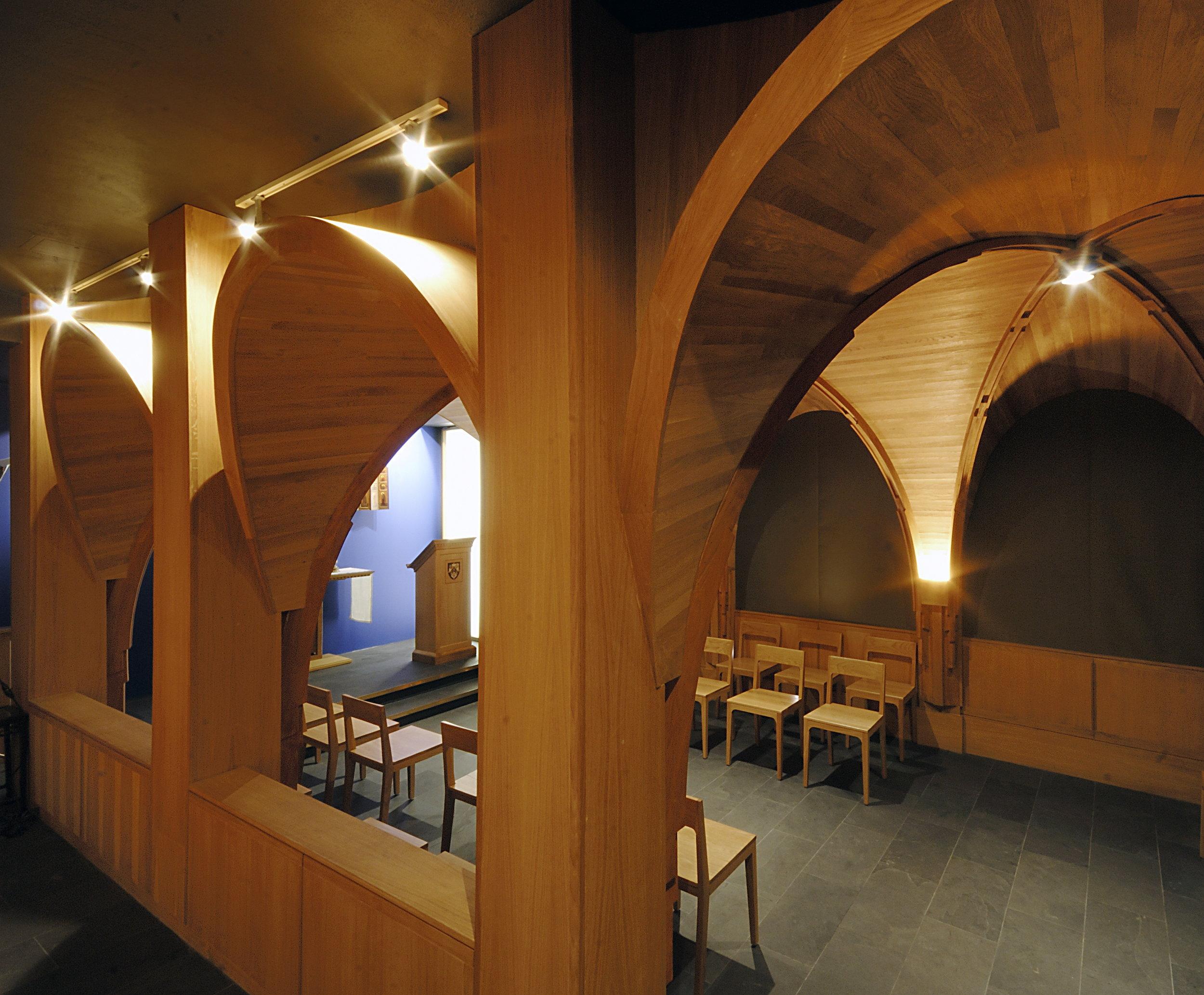 Massey College Chapel Interior Side