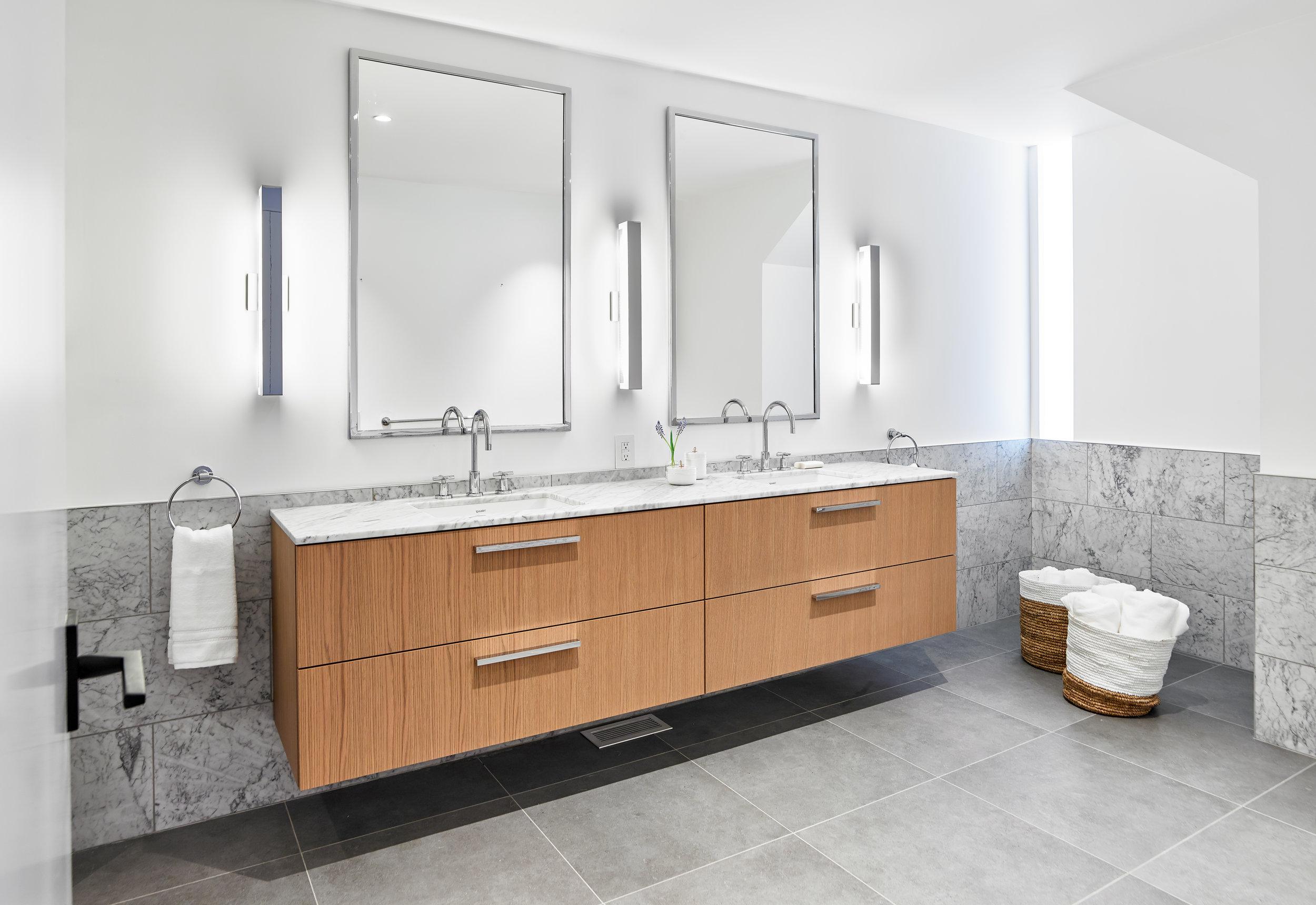 Walker Master Bathroom His/Hers Sink