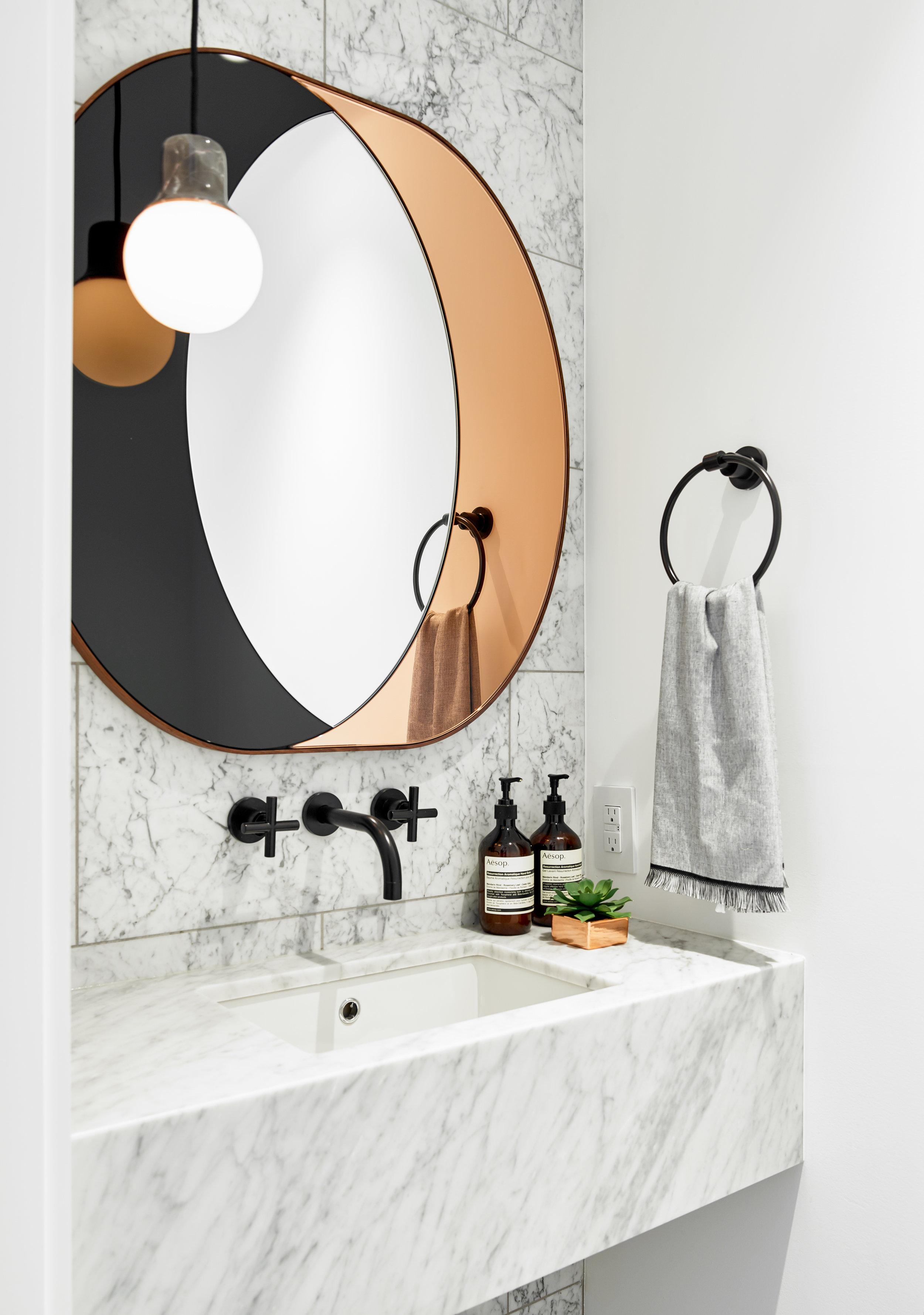 Walker Guest Bathroom Sink