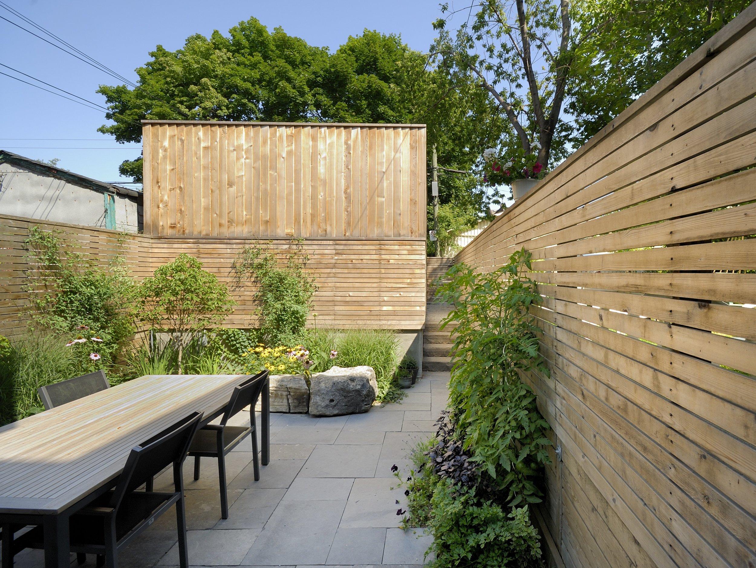 Galley House Exterior Backyard