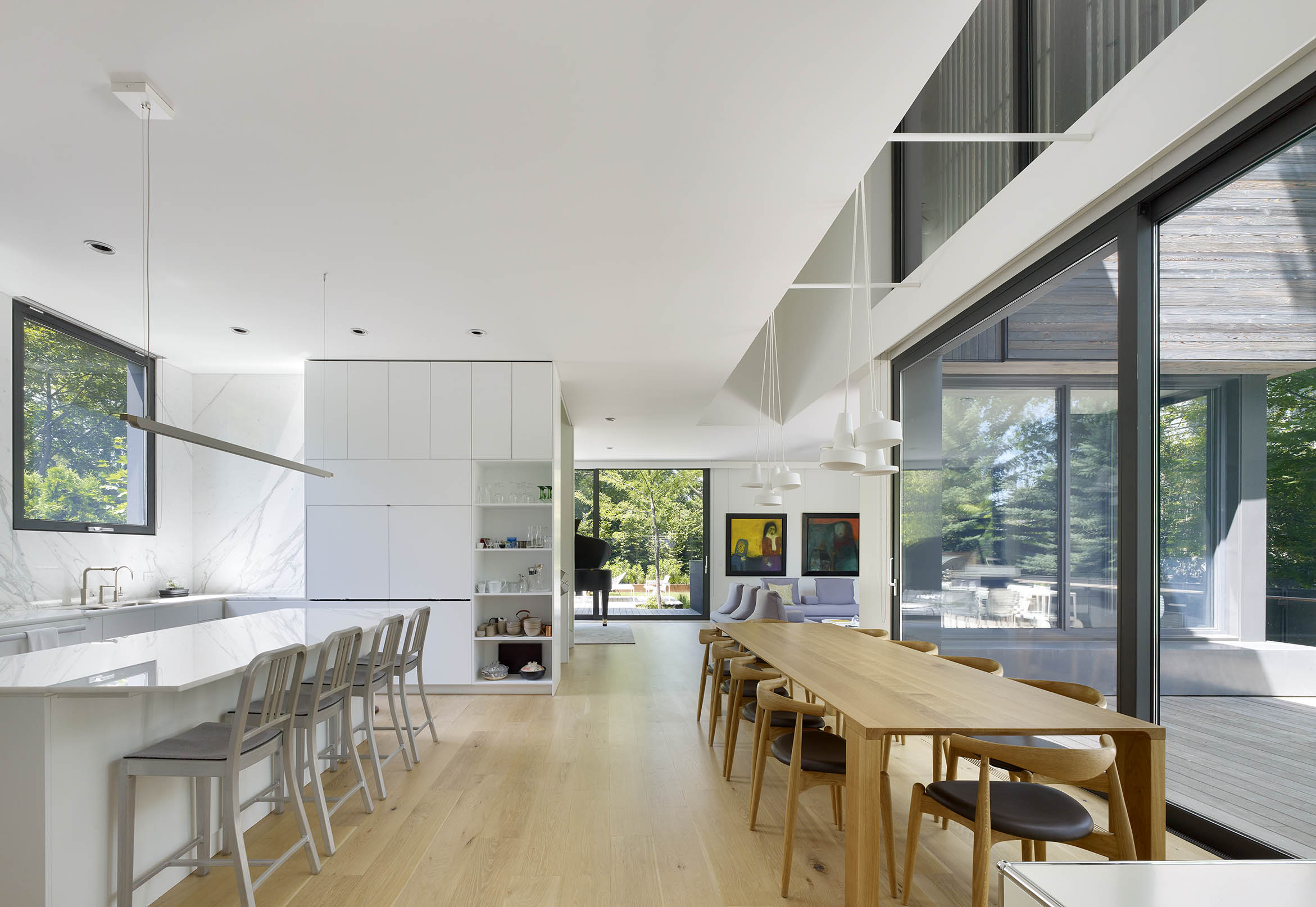 A House in a Grove Interior Ground Floor