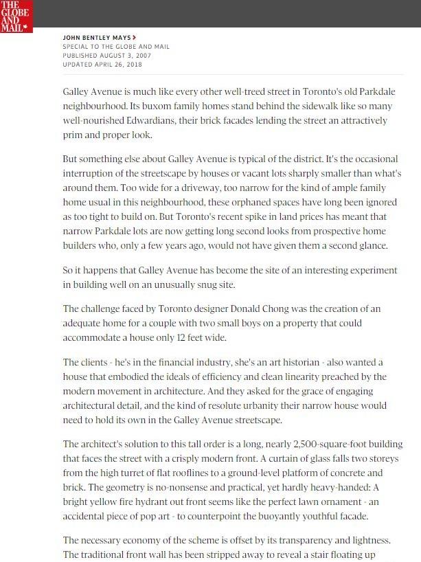 Globe & Mail Galley.JPG