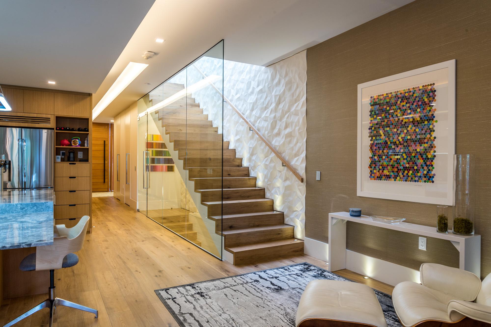 Sherwood Interior Staircase