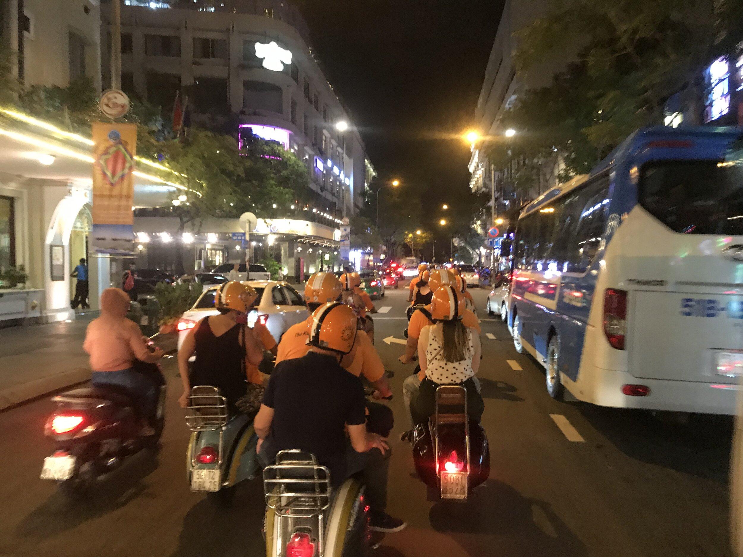 Scooting Through the streets of Saigon