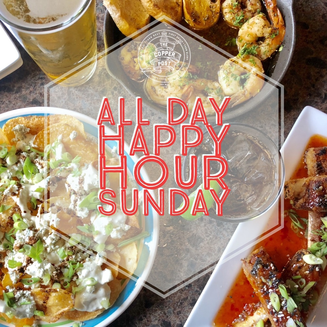 Sunday All Day Happy Hour