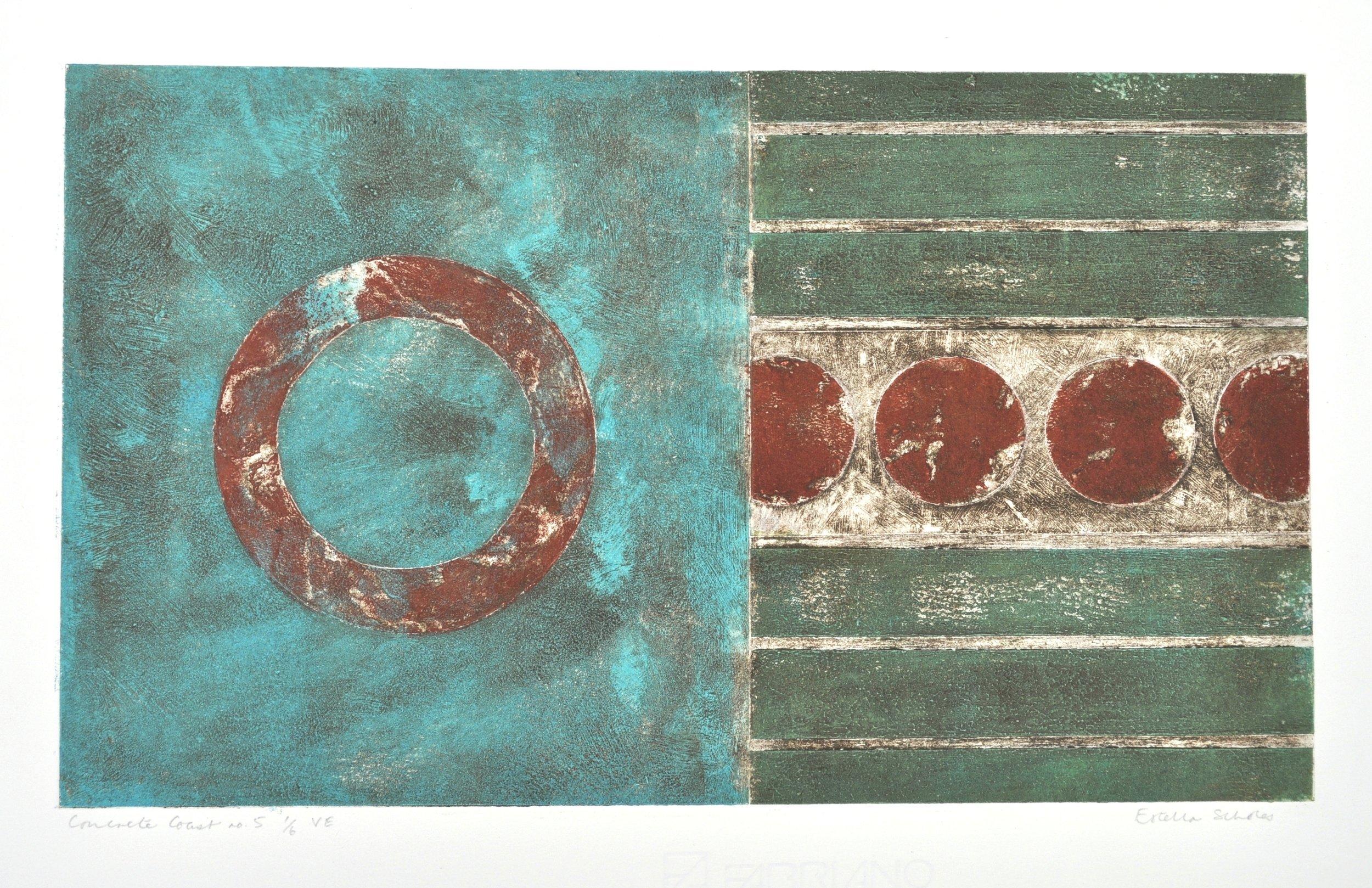 2. Estella Scholes, Concrete Coast no.5. 1 of 6 VE. 25 x42cm.JPG