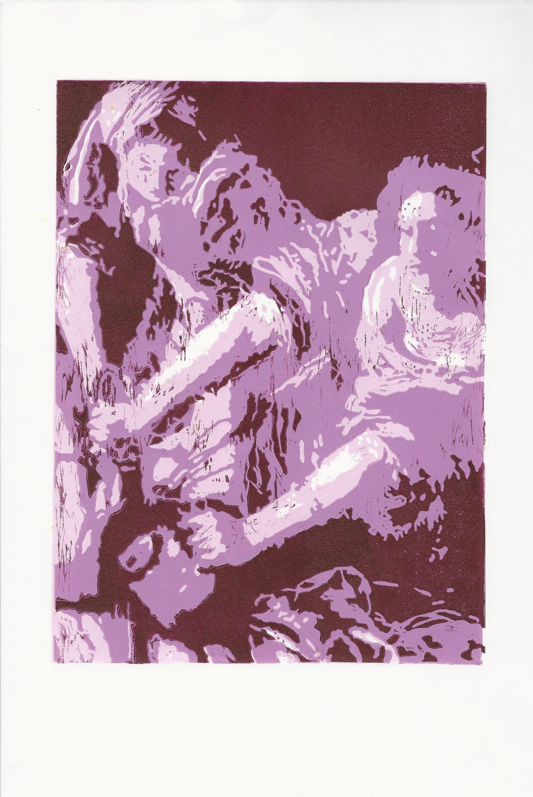 1. Jennifer Wallace Radical Action Linocut Pink 3 Masa.jpg