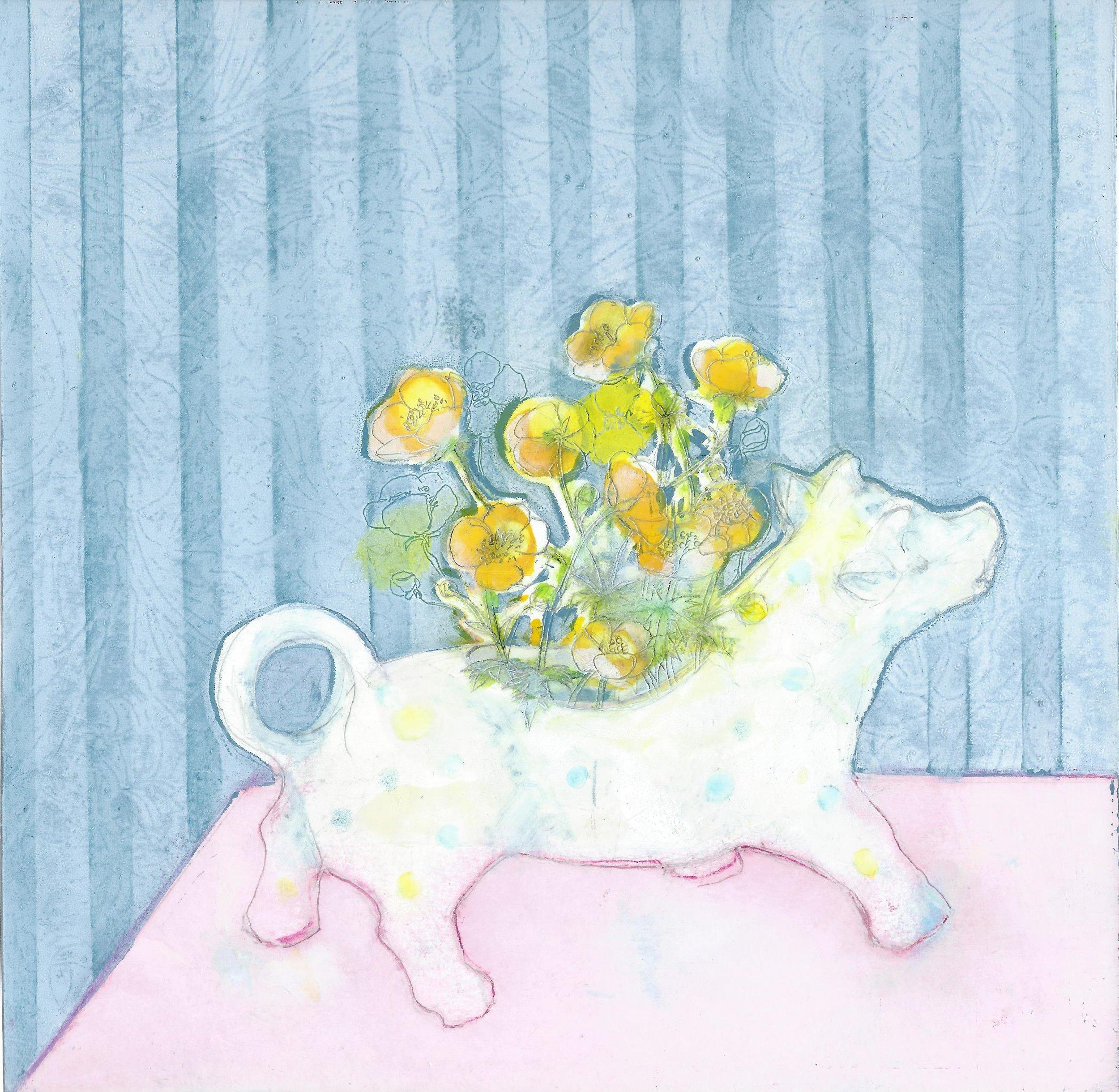 2. Buttercup (cow-creamer collection) Ann Bridges .jpg