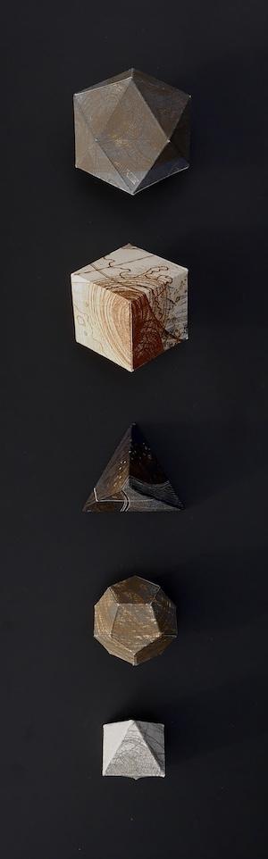 3. Elements Descending – front view – paper sculpture with etching – 49cm x 18cm x 10cm.jpg