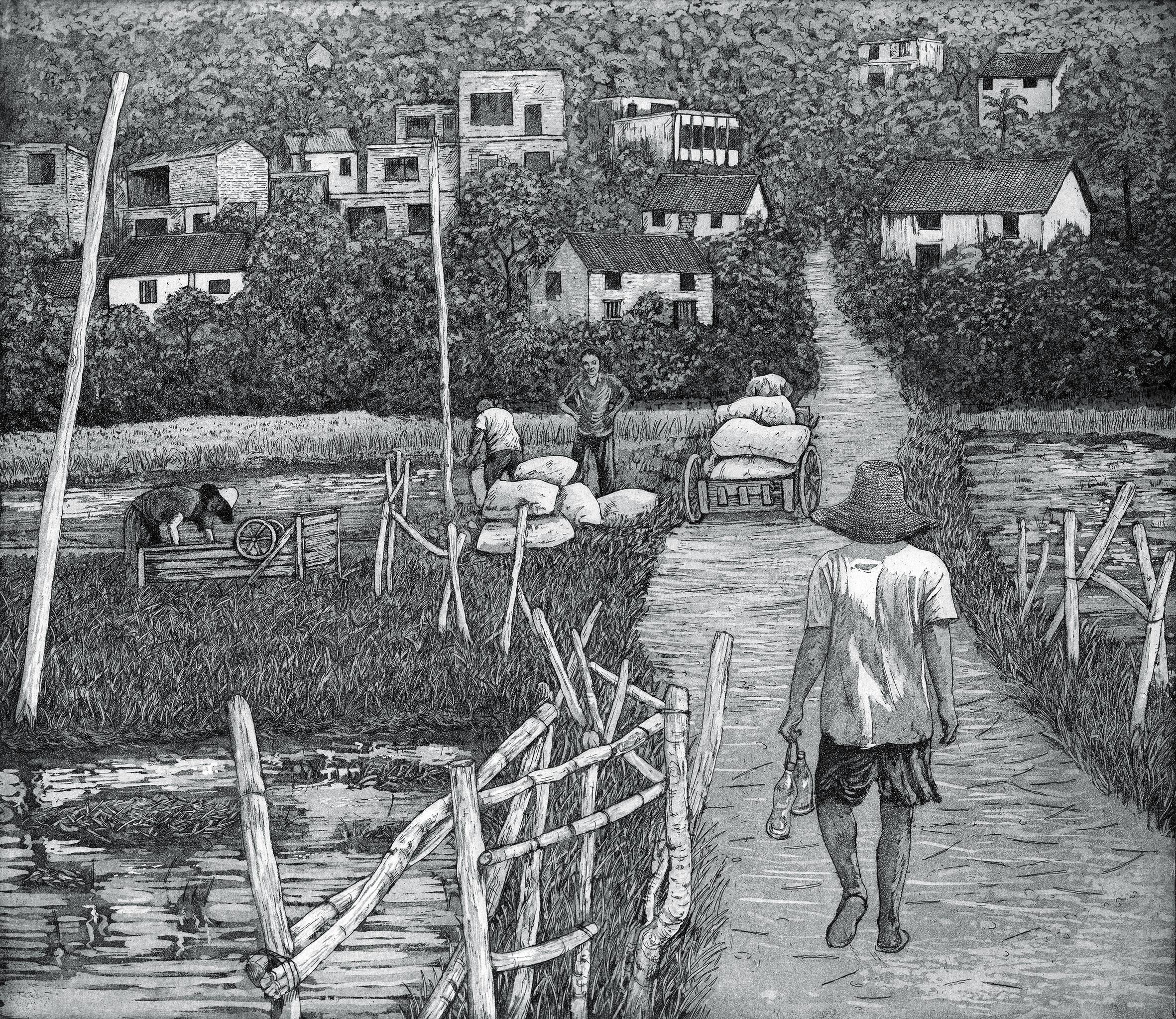 2. CH Back from the Fields, Pudi Village.jpg