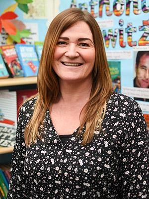 Mrs Caroline McEvitt, F2 Teaching Assistant