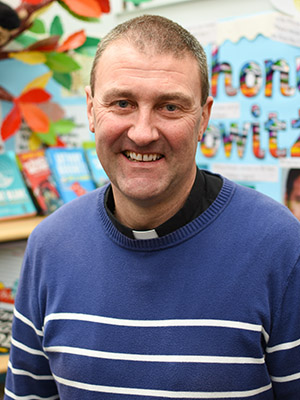 Fr. Ray Burke, Parish Priest