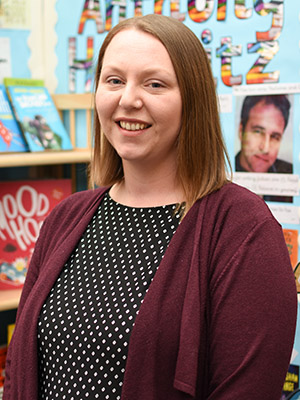 Mrs Claire Woodhouse. Year 2 Teaching Assistant