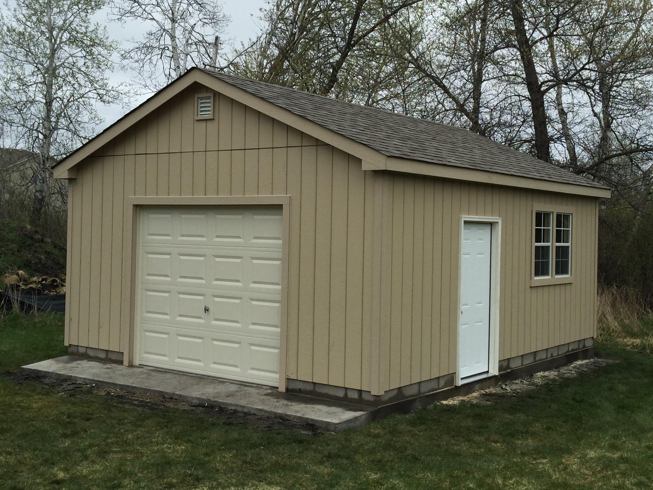 16x20 Garage