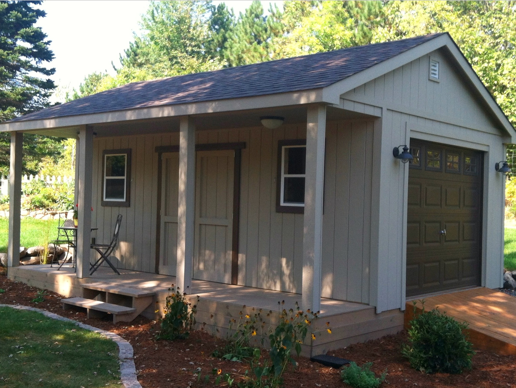 Sheds with Covered Porches — The Shed Shop USA