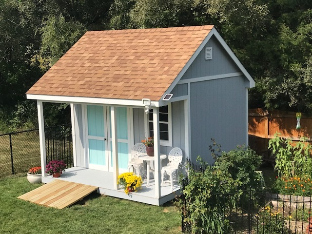 14x12x13 Gable Deluxe w/ Porch
