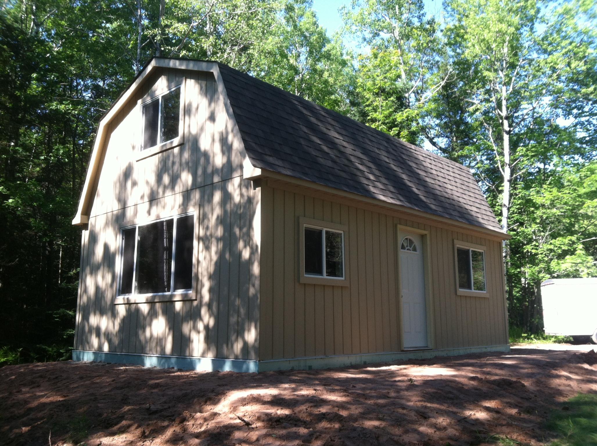 16x24 Barn Cabin