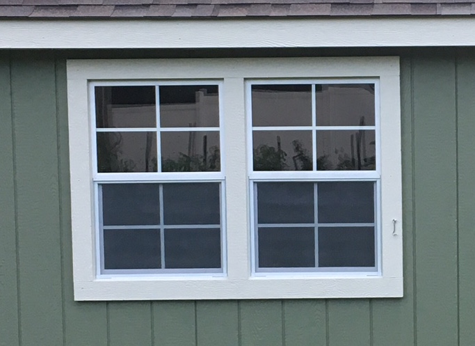 Windows placed together to create the look of one large window